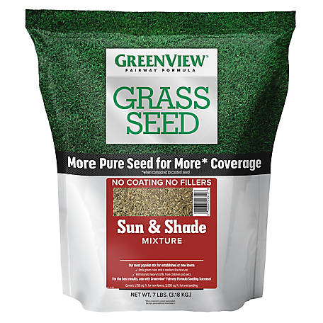 GreenView Fairway Formula Grass Seed Sun & Shade Mixture - 7 lb., 2829337