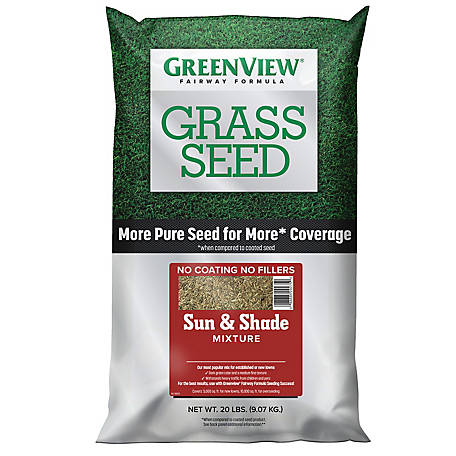 GreenView Fairway Formula Grass Seed Sun & Shade Mixture - 20 lb., 2829338