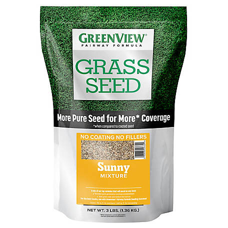 GreenView Fairway Formula Grass Seed Sunny Mixture - 3 lb., 2829339