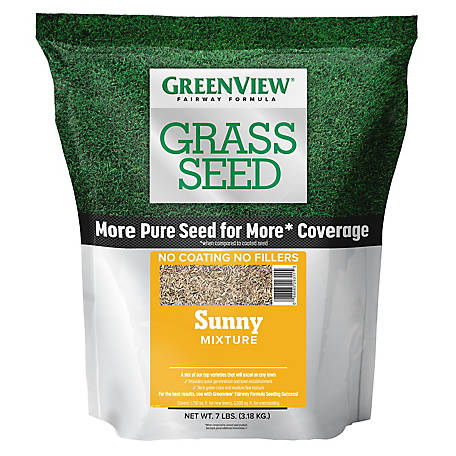 GreenView Fairway Formula Grass Seed Sunny Mixture - 7 lb., 2829340