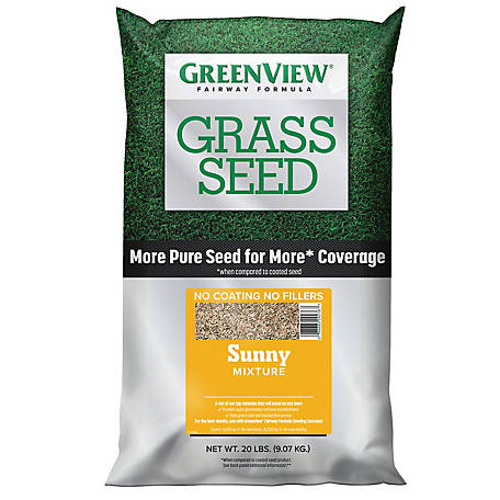 GreenView Fairway Formula Grass Seed Sunny Mixture - 20 lb., 2829341