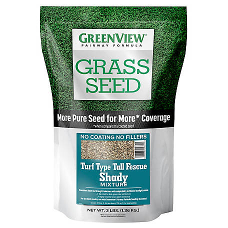 GreenView Fairway Formula Grass Seed Turf Type Tall Fescue Shady Mixture - 3 lb., 2829349