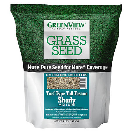 GreenView Fairway Formula Grass Seed Turf Type Tall Fescue Shady Mixture - 7 lb., 2829350