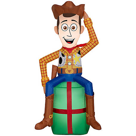 Gemmy Airblown-Woody on Present, G-114521