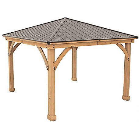 Yardistry Meridian 12 x 12 ft. Gazebo, YM11769