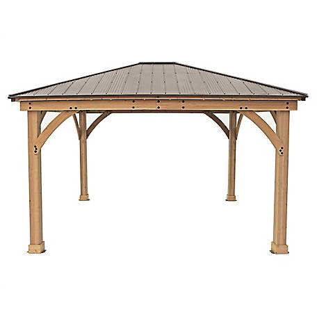 Yardistry Meridian 12 x 14 ft. Gazebo, YM11772