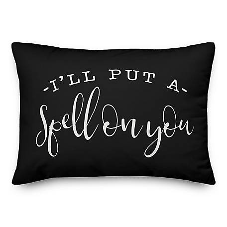 Designs Direct Spell On You 14 x 20 Throw Pillow, 5775-G