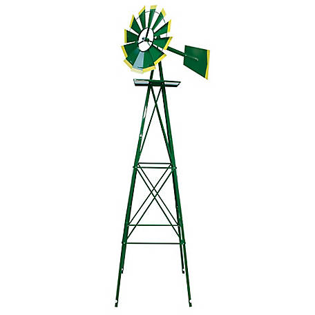 SMV Industries Green with Yellow Accent 8 ft. Windmill, 48A-G