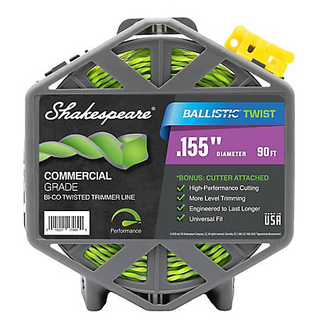 Shakespeare .155 Ballistic Twist with Cut 90 ft. Cage 17469