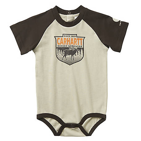 Carhartt Boys' Infant Elk Body Shirt, CA6063 CT57
