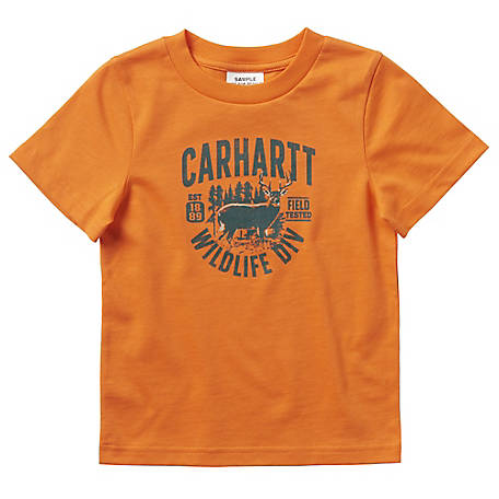 Carhartt Boys' Infant's Wildllfe Div T-Shirt, CA6068 E165