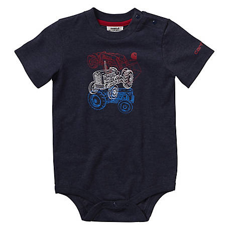 Carhartt Boys' Infant Tractor Stack Body Shirt, CA6062