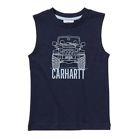 Carhartt Boys' Toddler Off Road Tank, CA6072 N89