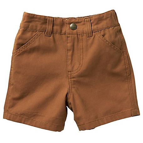 Carhartt Boys' Toddler Canvas Rigby Shorts, CH8291 D15