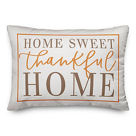 Designs Direct Home Sweet Thankful Home 14 X 20 Autumn Throw Pillow 5750am1 At Tractor Supply Co