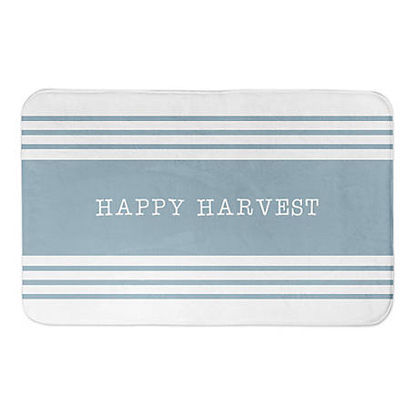 Designs Direct Blue Stripe 34 x 21 Bath Mat, 5697-AC