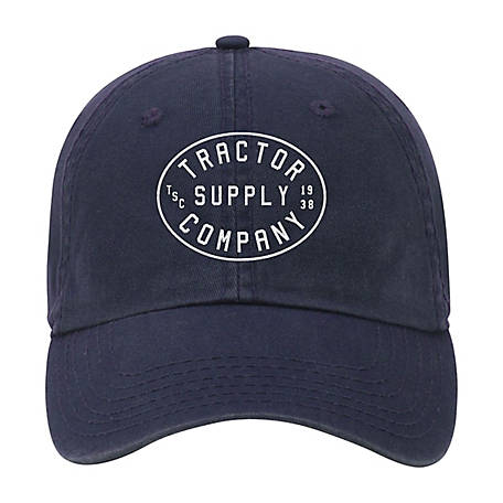 Tractor Supply Vintage White Circle Logo Cap
