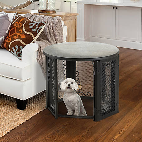 Richell Accent Table Pet Crate, 80012