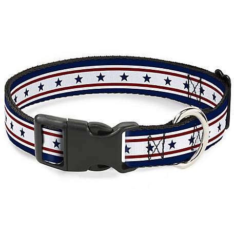 Buckle-Down Stripes 6 Blue/White/Red PC-W30193