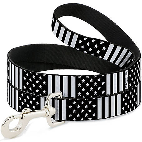 Buckle-Down Dog Leash American Flag, DL-6FT-W30132
