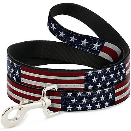 Buckle-Down 6 ft.Americana Rustic Stars Stripes, DL-6FT-W30186
