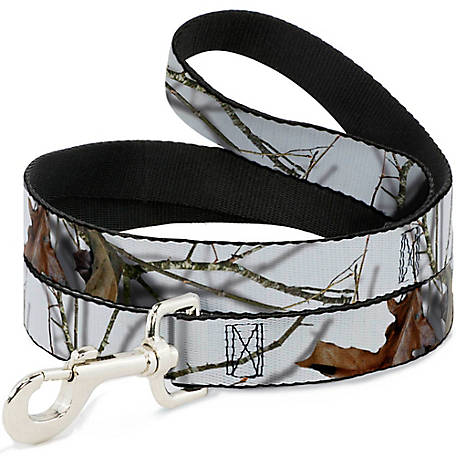 Buckle-Down Mossy Oak Country Roots Snowdrift Camo White, DL-6FT-WMO010