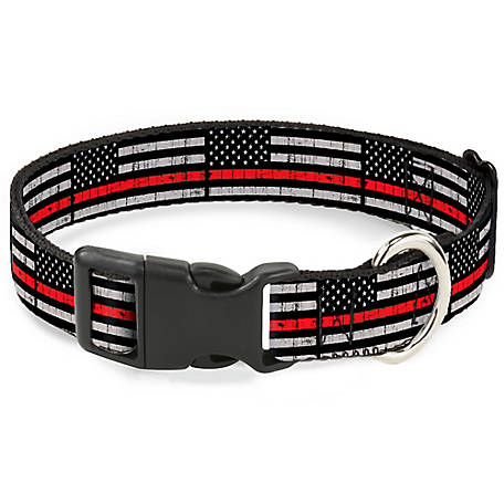Buckle-Down Lag Weathered Black/Gray/Red, PC-W34621