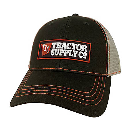 Tractor Supply Trucker Hat with Rubber Logo