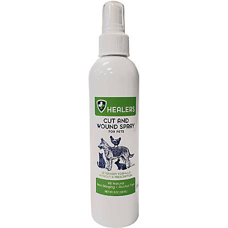 Healers Natural Wound Spray 8 oz., 755274