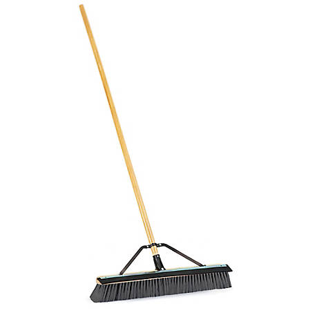 Harper 24 in. Push Broom with Squeegee, 1434ASQ19
