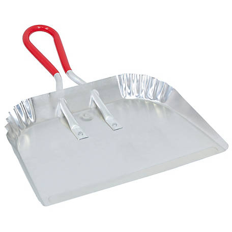Harper Xl Aluminum Dust Pan with Grip Handle, H485