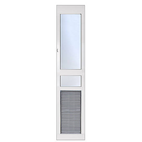 High Tech Pet We Patio Door Small Opening Tall Height, AF1-STE-S