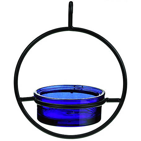 Mosaic Birds 7 in. Hummble Basic Bird Feeder Cobalt, M045-200-15