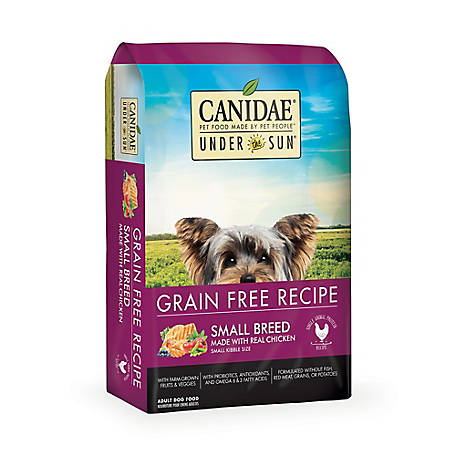 CANIDAE Under The Sun Small Breed Adult Dog Food, 4 lb., 82114