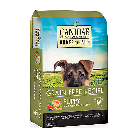CANIDAE Under The Sun Puppy Chicken Dog Food, 4 lb.