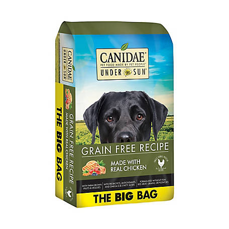 CANIDAE Under The Sun 82193 Grain-Free Chicken Recipe Adult Dry Dog Food, 40 lb.