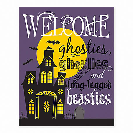 Designs Direct Haunted House 8 x 10 Tabletop Canvas, 5684-E