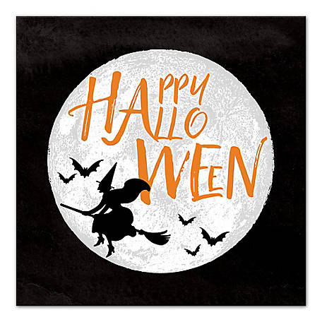 Designs Direct Happy Halloween Moon 16 x 16 Canvas, 5684-H
