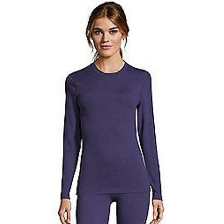 Hanes Women's 4 Way Sth Crew Top, 125607