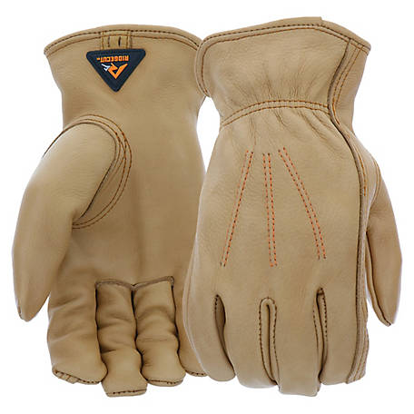 Ridgecut Men's Water Resistant Leather Driver Glove