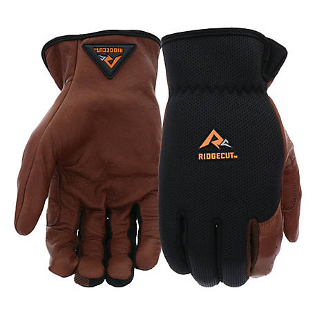 Ridgecut Men's Performance Leather Glove with Instachill Technology