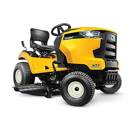 Cub Cadet XT1 Enduro LT 42 in. 547 cc Engine with IntelliPower Hydro Gas Front-Engine Riding Lawn Tractor, 13A6A9CS056