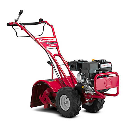 Troy-Bilt Super Bronco 16 in. 208 cc OHV Engine Rear-Tine Counter-Rotating Gas Tiller, 21D-65M8766