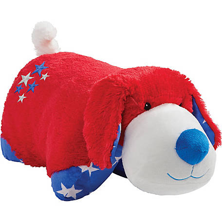 Pillow Pets Americana Red Puppy Large, 01311002I