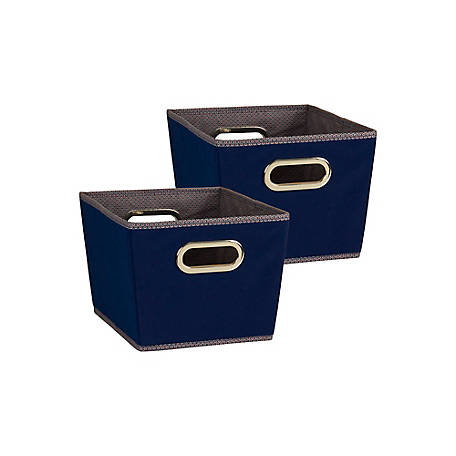 Household Essentials Small Tapered Bins, 2 Pc Set, 74