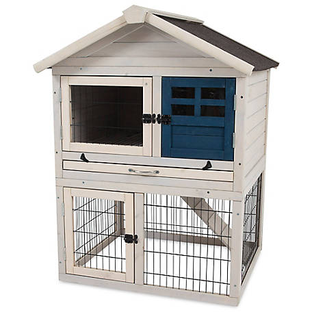 Precision Rabbit Playhouse Hutch, 45000D