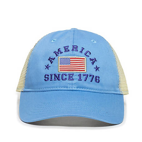 Outdoor Cap Americana 1776 Flag Cap, Blue, TS229133