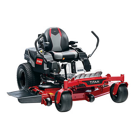 Toro TITAN 60 in. Fab Deck Zero-Turn Mower with MyRide, 75313