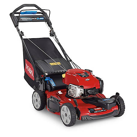Toro 22 in. Recycler All-Wheel Drive 163cc Briggs & Stratton Self-Propelled Lawn Mower, 20353
