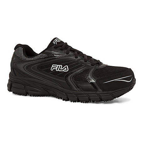 Fila Men's Memory Reckoning 7 Slip Resistant Steel Toe Shoe, 1SR21264-010